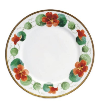A SET OF TEN FRENCH PORCELAIN