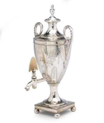 A CONTINENTAL SILVER-PLATED HO