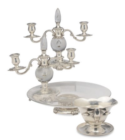 A PAIR OF AMERICAN GLASS-MOUNT