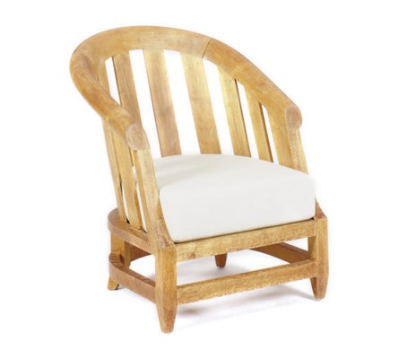 A TEAK LOW CHAIR,