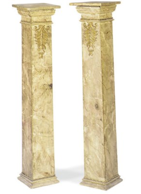 A PAIR OF GILT-METAL MOUNTED F