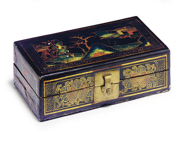 A LACQUERED BOX,