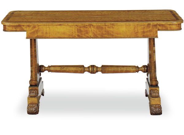 A GEORGE IV SATINWOOD AND ROSE