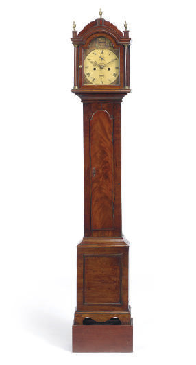AN ENGLISH MAHOGANY DIMINUTIVE