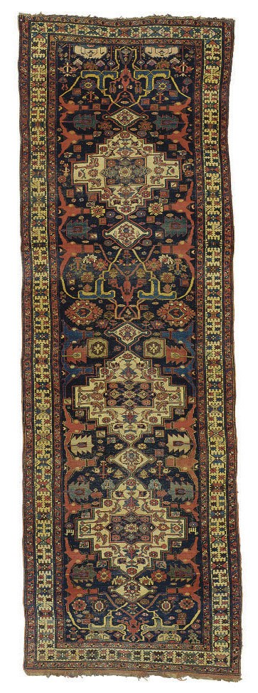 A BIDJAR GALLERY CARPET,