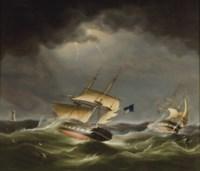 Rescue off Eddystone Light