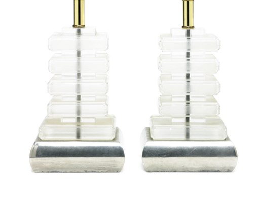 A pair of table lamps from the