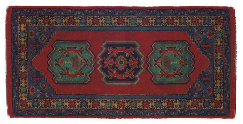 A small area rug from the S.S.