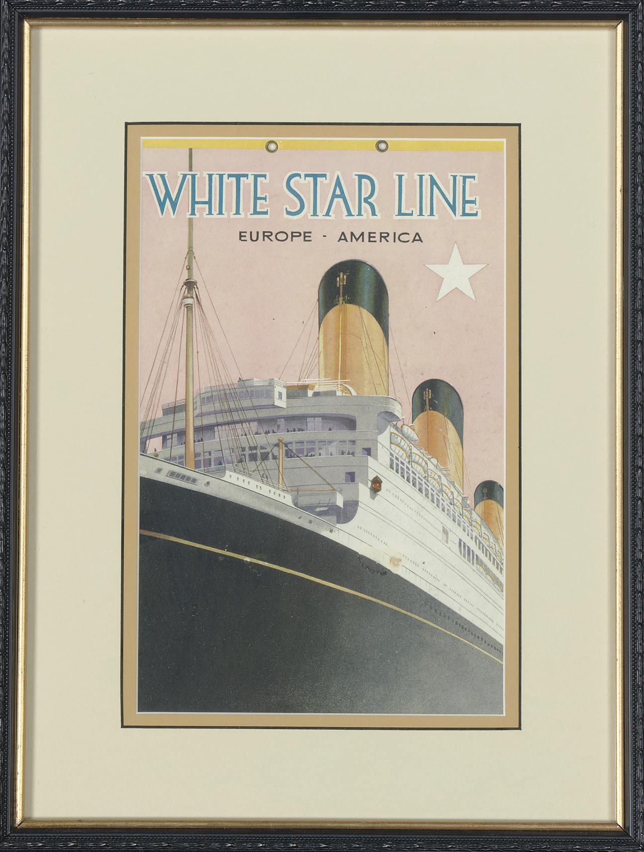 White Star Line Europe - Ameri