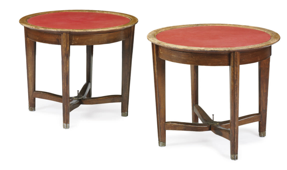 A pair of tables for the R.M.S