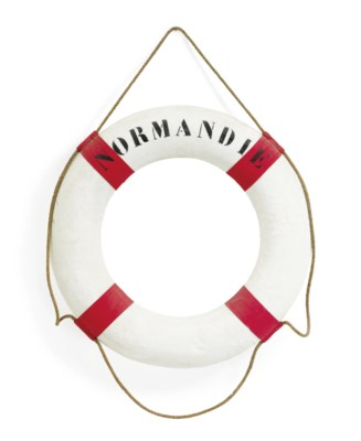 A life ring from the S.S. Norm