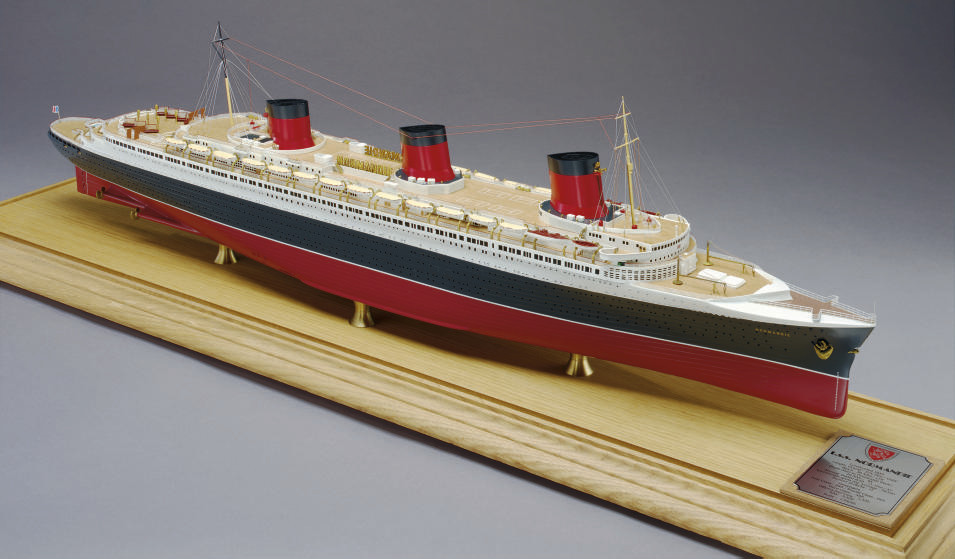 A fine scale model of the S.S.