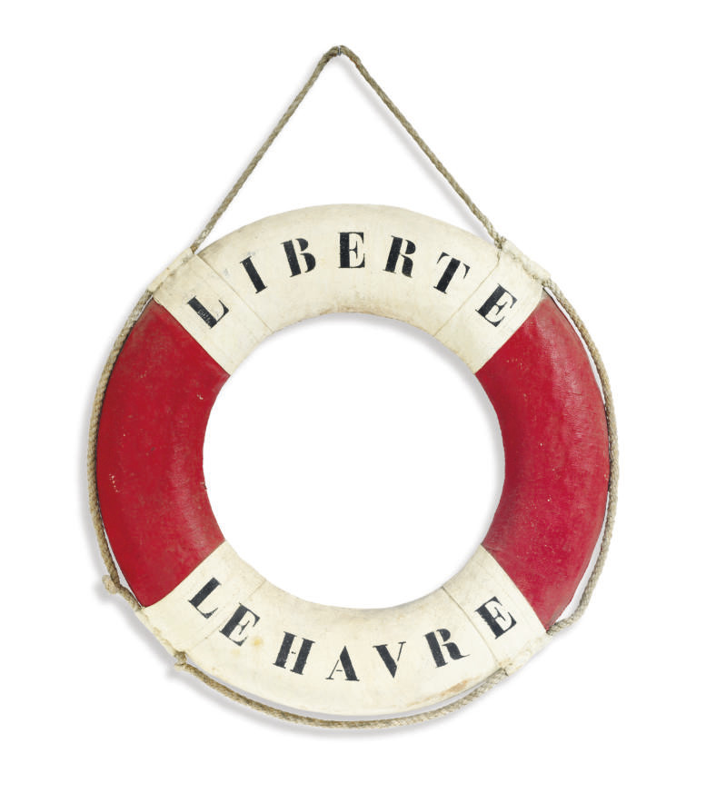 A life ring from the S.S. Libe