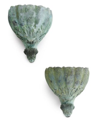 Pair of wall planters from the