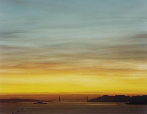Richard Misrach (b  1949) | Golden Gate Series (Sunset