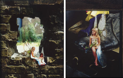 Sugar and Spice, All Things Nice, This Is What Little Girls Are Made Of #5 signed and dated 'M Collishaw 98' (on the reverse) iris print 16 x 12¾ in. (40.6 x 32.4 cm.) Executed in 1998. This work is number three from an edition of three.  Sugar and Spice, All Things Nice, This Is What Little Girls Are Made Of #2 signed and dated 'M Collishaw 98' (on the reverse) iris print 7½ x 6 in. (17.8 x 15.2 cm.) Executed in 1998. This work is number three from an edition of three.  (2)