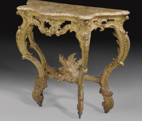A SOUTH EUROPEAN GILTWOOD CONS
