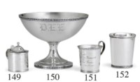 A SILVER JULEP CUP OF SOUTHERN INTEREST