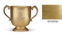 A GOLD TROPHY CUP: SAN JUAN CAPISTRANO HANDICAP, WON BY PROMISED LAND