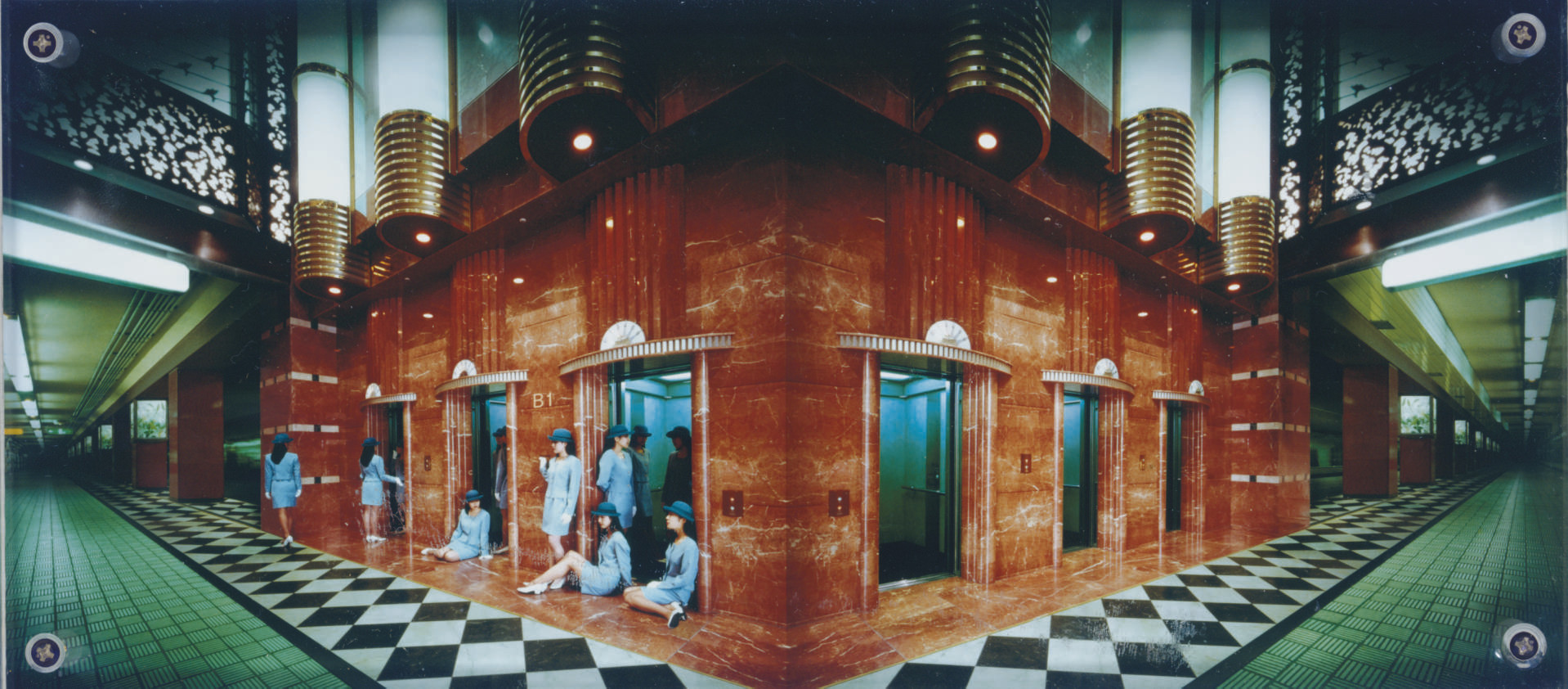Elevator Girl House B1