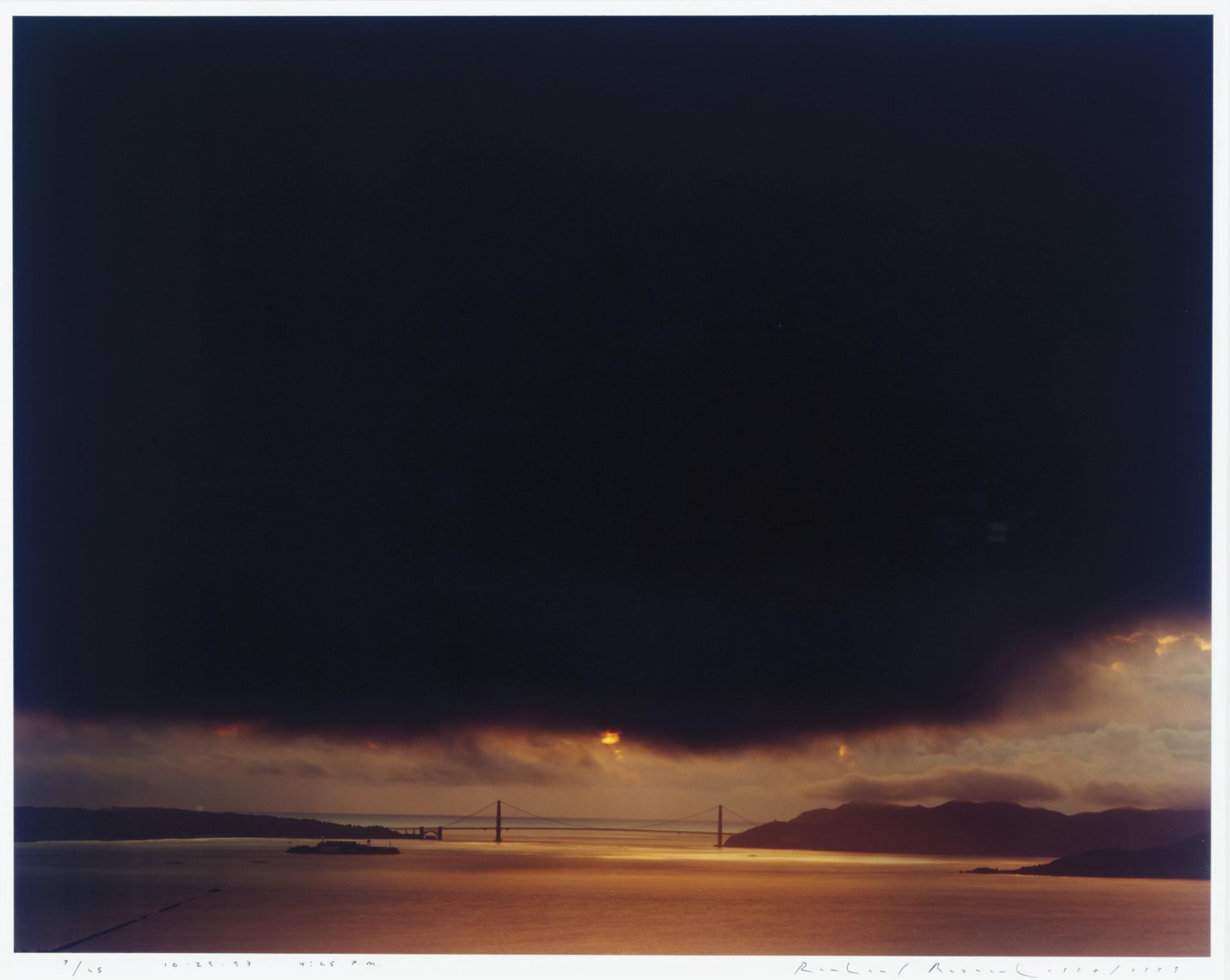 RICHARD MISRACH (B  1949) | Golden Gate Bridge, 10 29 97, 4