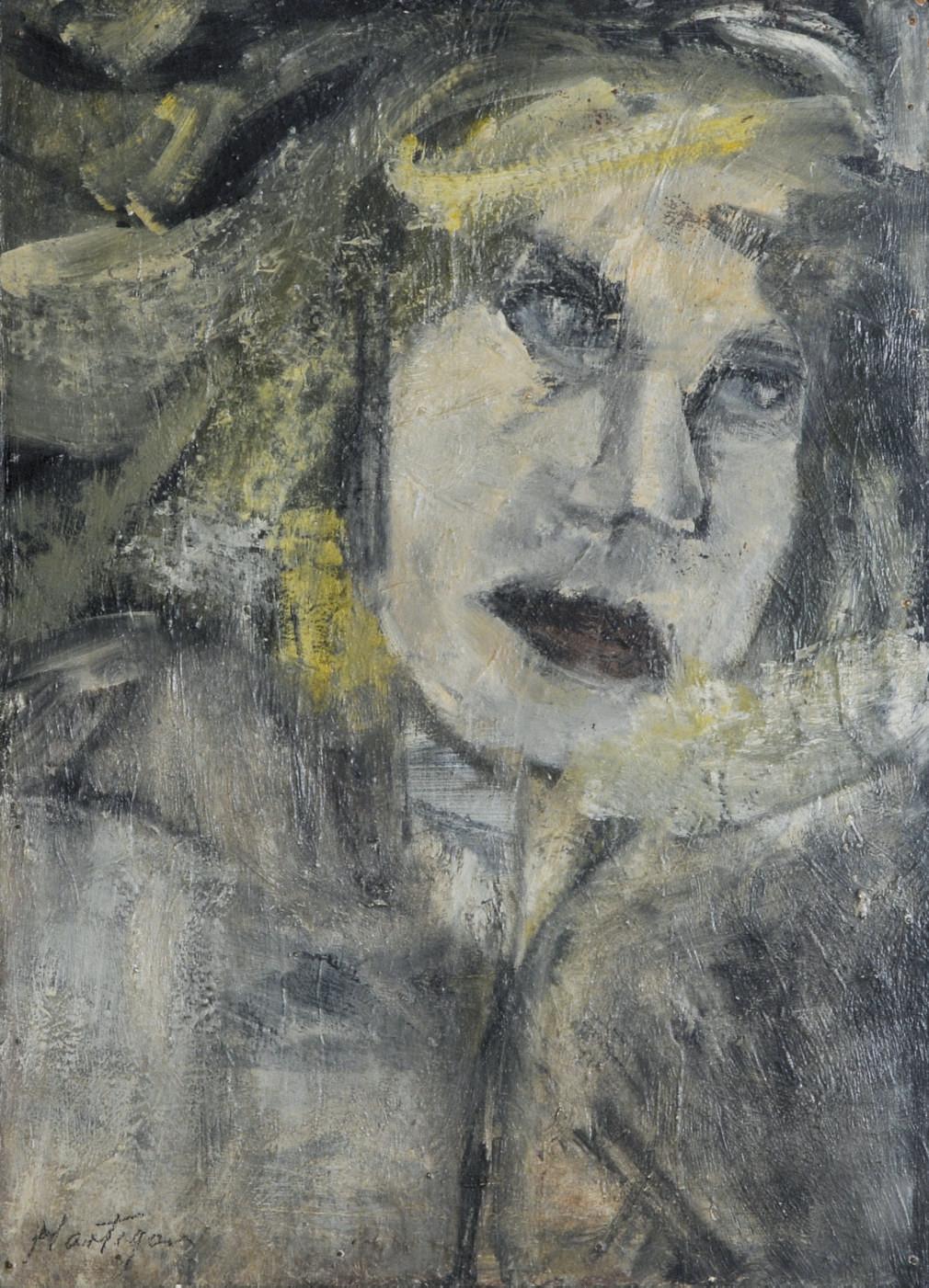 Untitled (Portrait of Lotte Lenya)