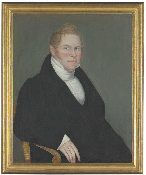 Portrait of Mr. Dilbee of Pine Plains (Portrait of a Man with Red Hair)