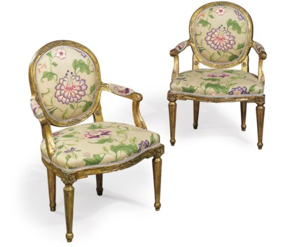 A PAIR OF ITALIAN GILTWOOD OPE
