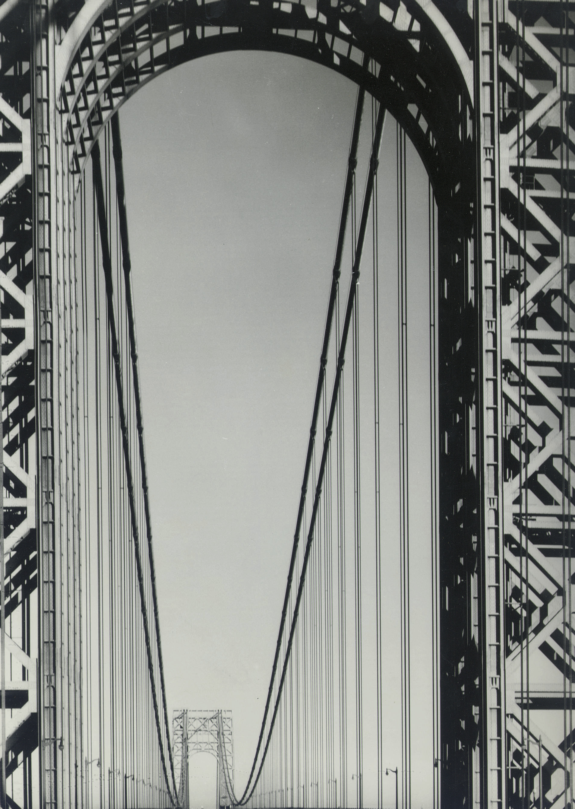 The George Washington Bridge, for Fortune, 1933
