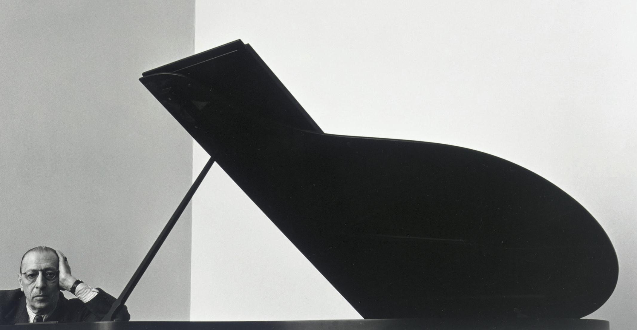 Igor Stravinsky, NYC, 1946