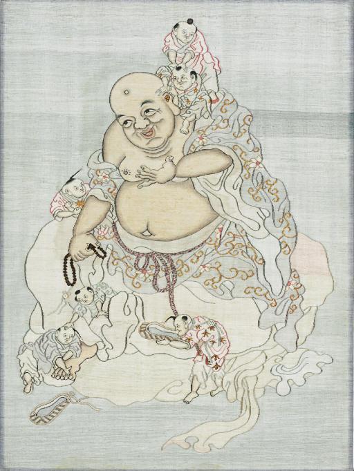A KESI PANEL OF BUDAI