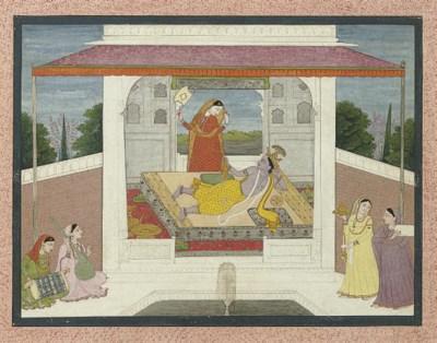 An illustration to the Krishna