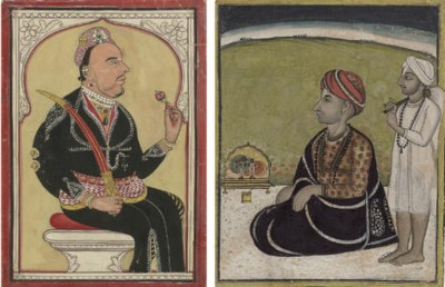 Portraits of Two Rulers