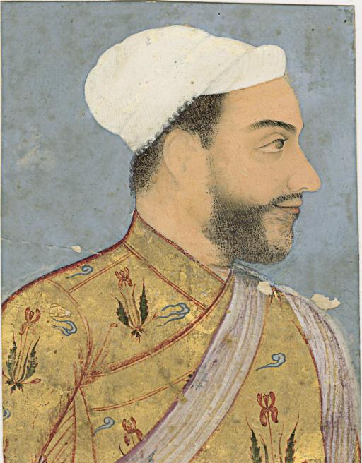 Portrait of Muhammad Adil Shah