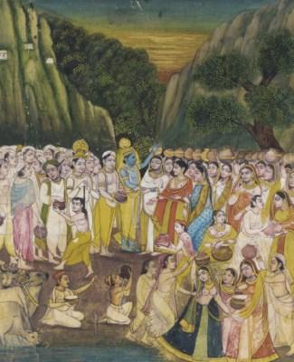 Illustration from the Bhagavat
