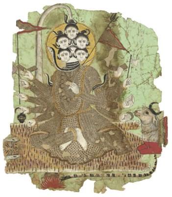 Tantric form of Sadashiva
