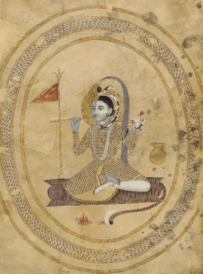 A painting of Harihara