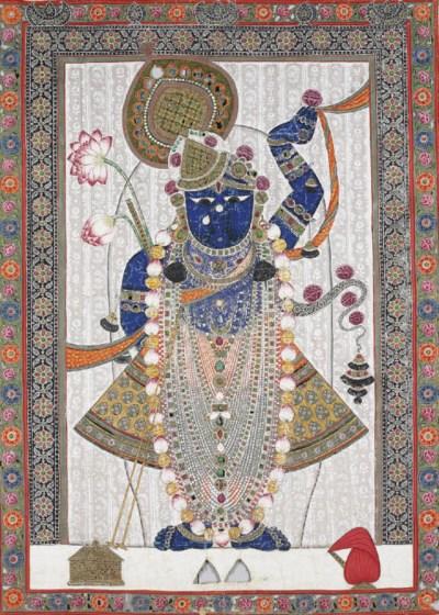 A Picchvai of Shri Nathji