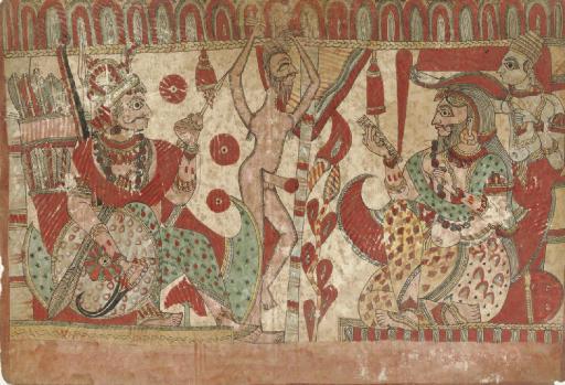 An illustration to the Ramayan