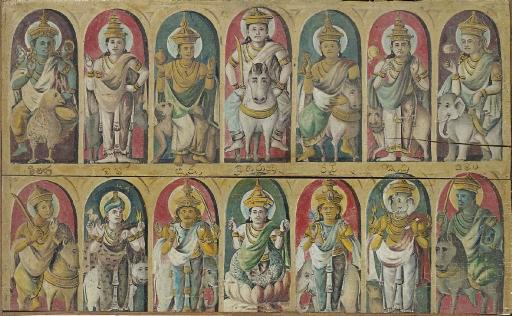 A Painting of Buddhist Deities