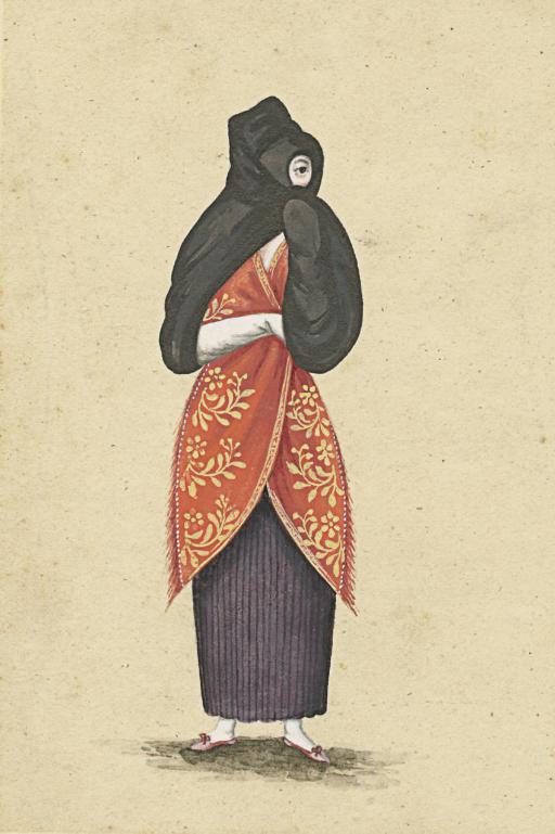 A veiled Woman