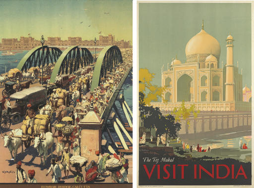 Two tourism posters