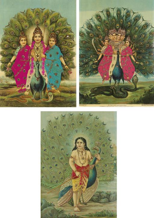 Three posters of Kumara