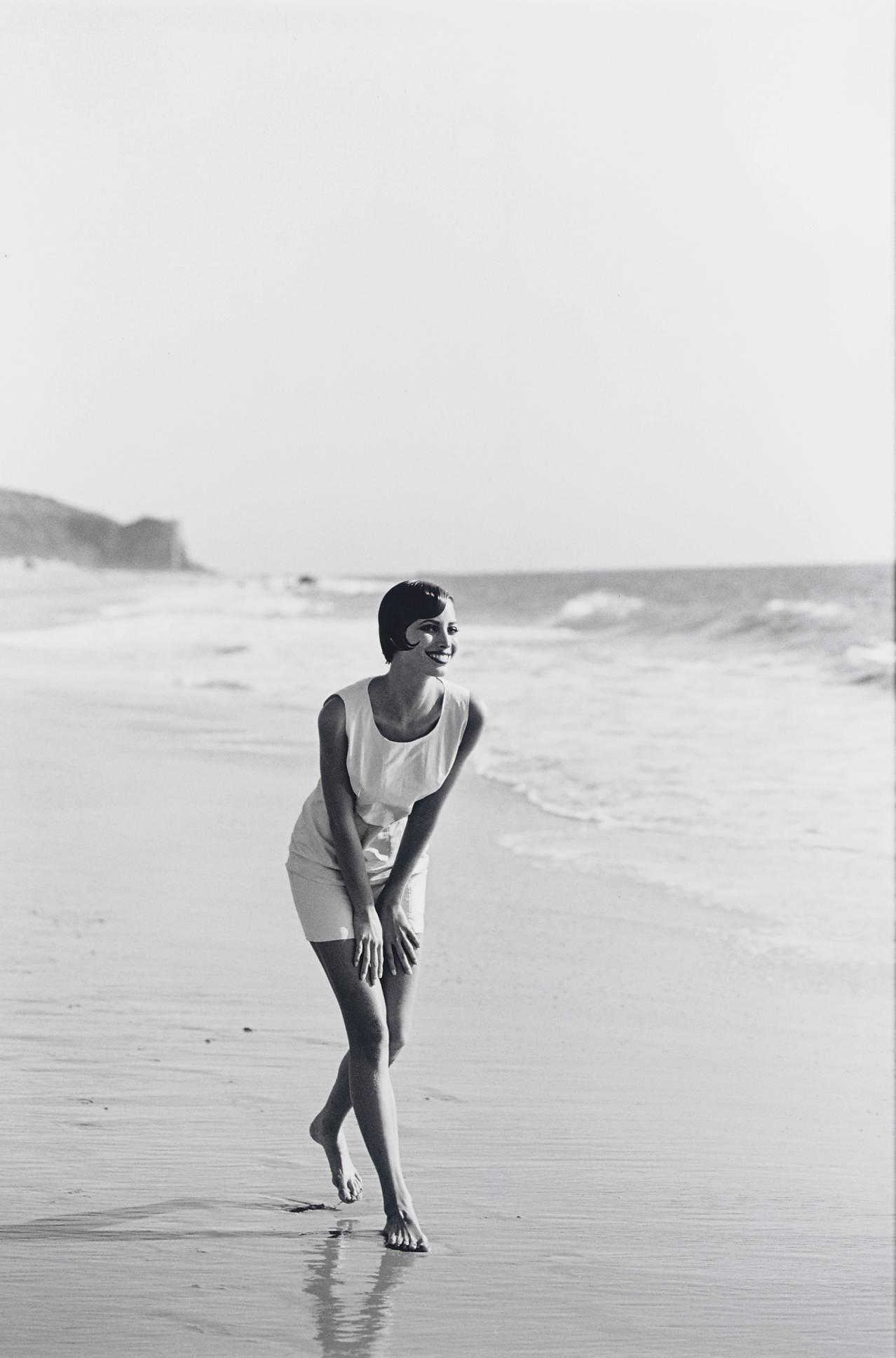 Christy Turlington, Malibu, for Alberta Aspesi, 1991