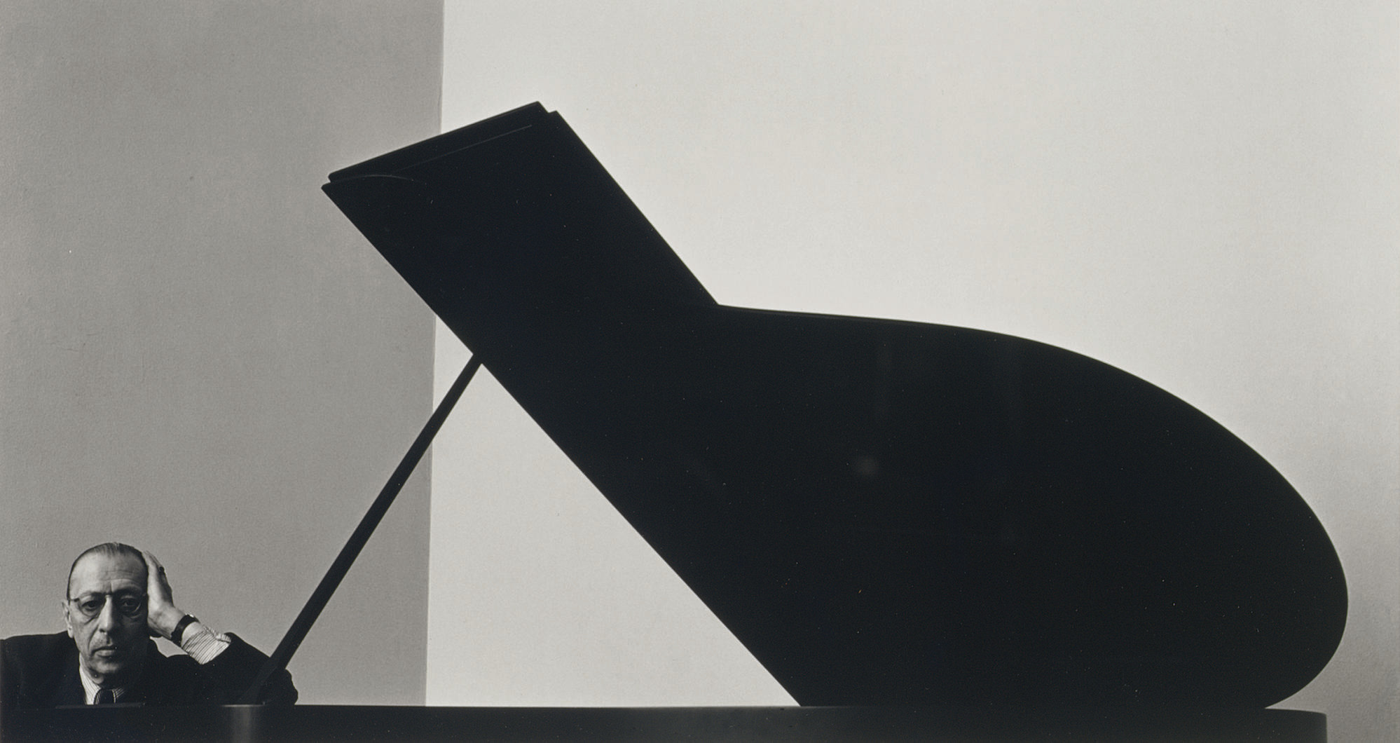 Igor Stravinsky, N.Y.C., 1946