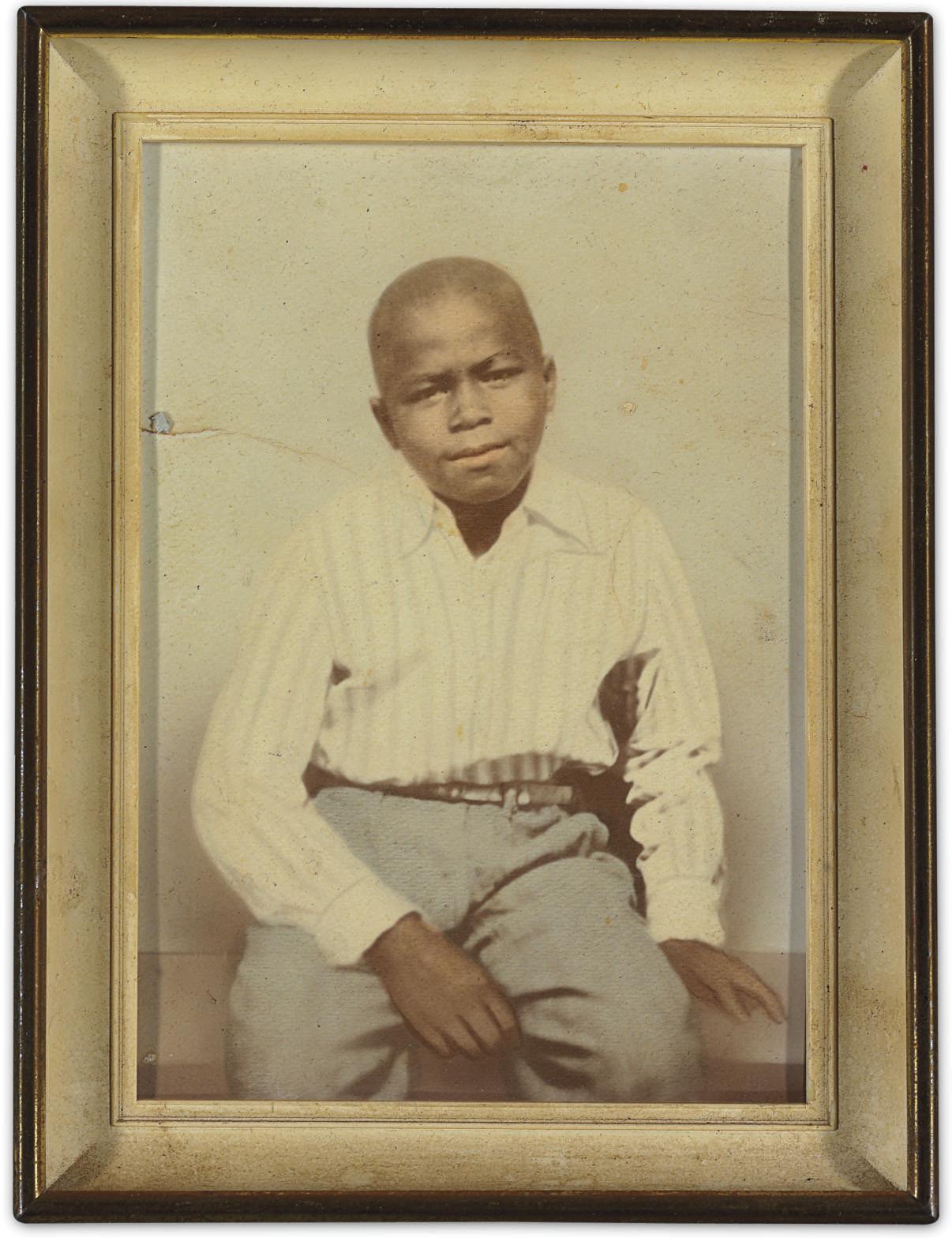 James Brown Childhood Photogra