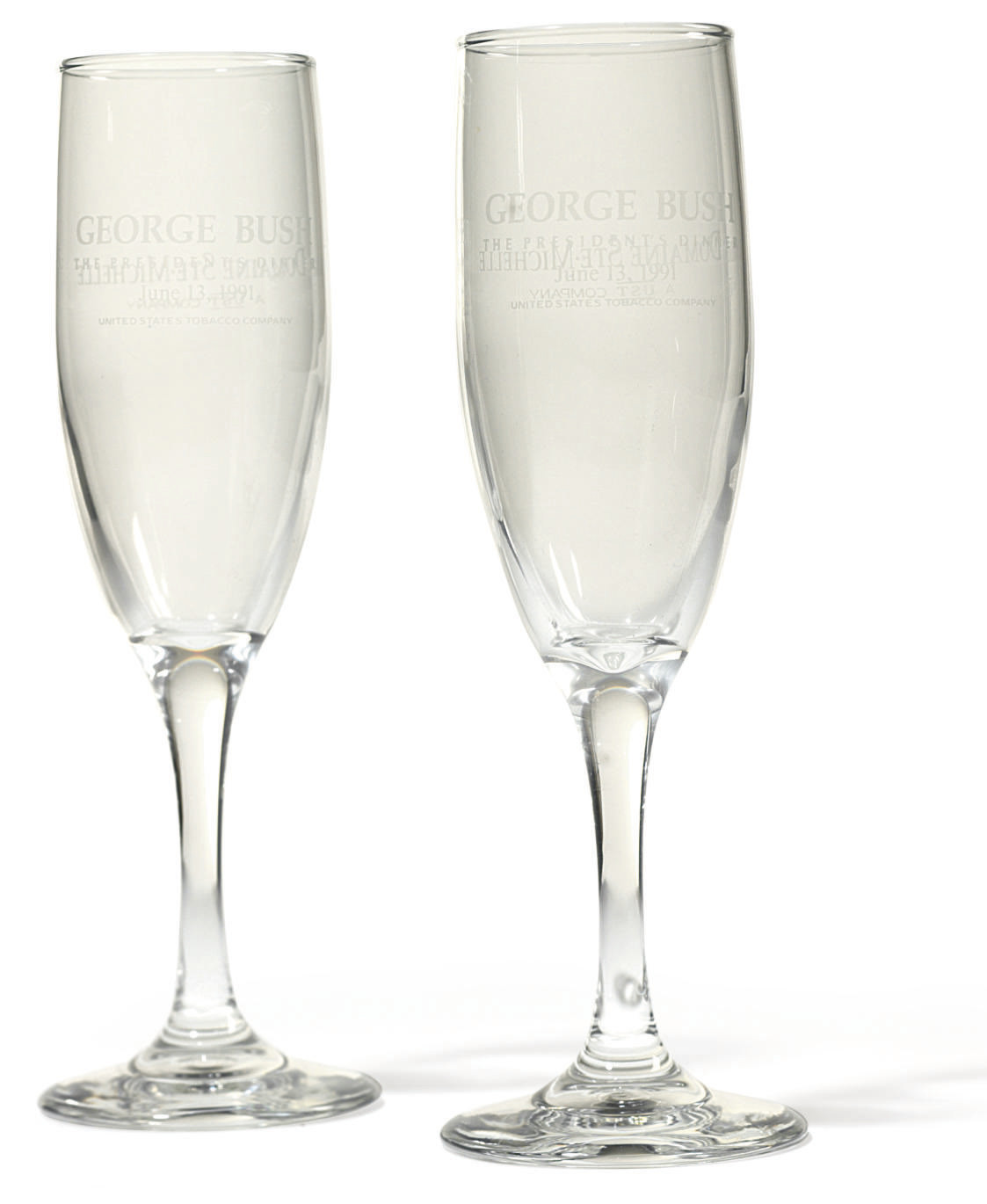 Presidential Champaign Glasses