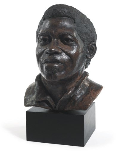 James Brown Bust