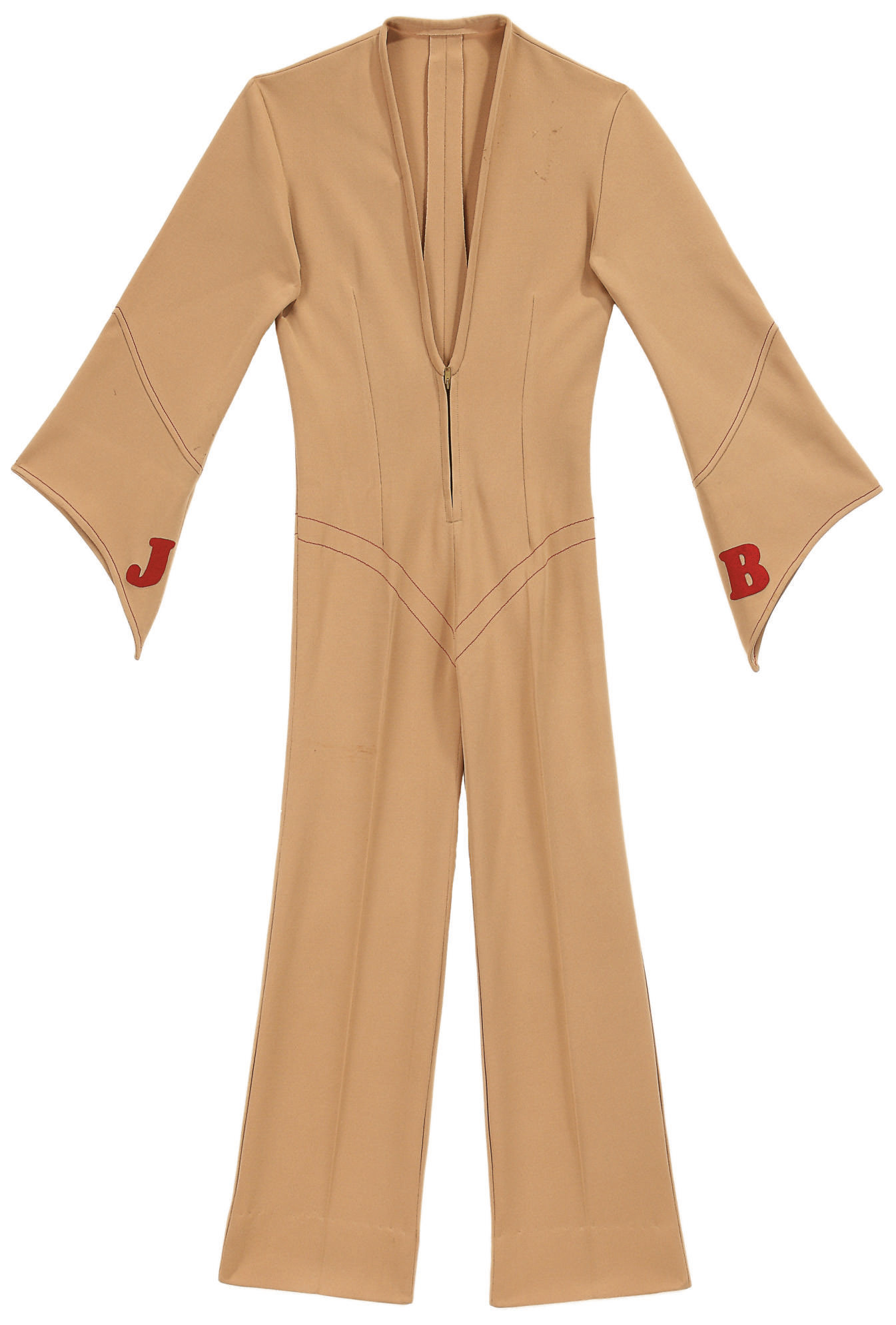 Tan Jumpsuit