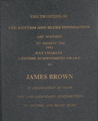 Ray Charles Lifetime Achieveme